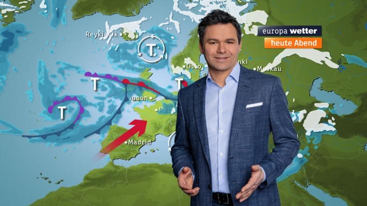 Özden Terli berichtet regelmäßig über das Wetter. So tickt der Meteorologe privat. (Foto)