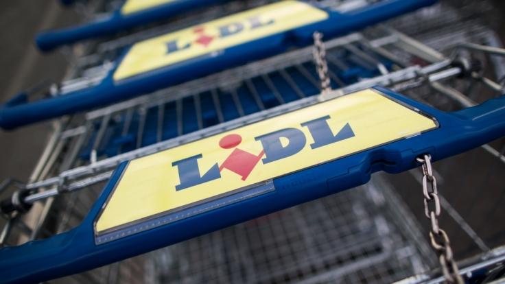 In Irland haben Plünderer eine Lidl-Filiale komplett zerstört.