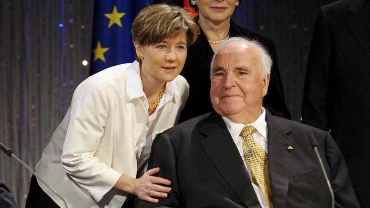 Helmut Kohl und Maike Kohl-Richter (Foto)