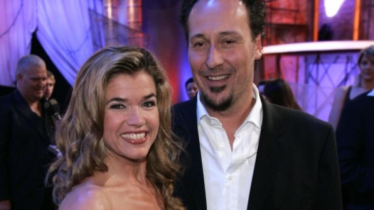 Anke Engelke und Claus Fischer beim Comedypreis 2006. Öffentliche Auftritte des Paares waren selten.