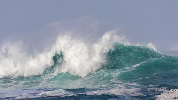 Sturmtief Gloria tobt über Spanien. (Foto)