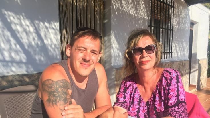 Stehen René und Denise Sinz in Marbella kurz vor der Trennung? (Foto)