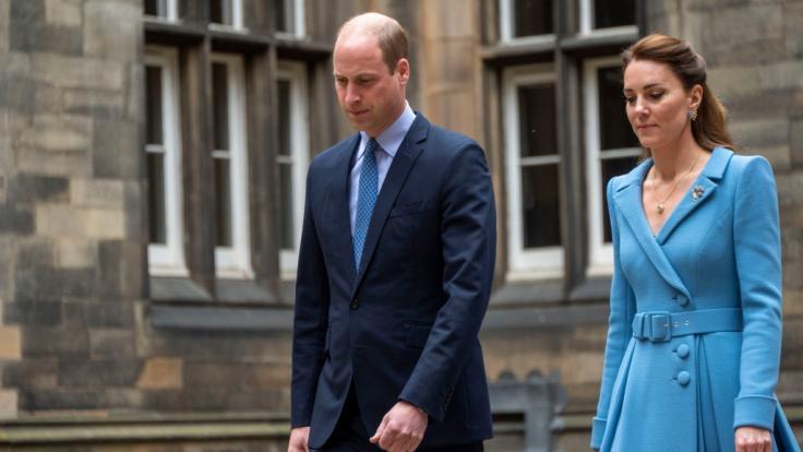 Wenn die Pflicht ruft, müssen auch royale Traumpaare wie Prinz William und Herzogin Kate einer Trennung zustimmen. (Foto)