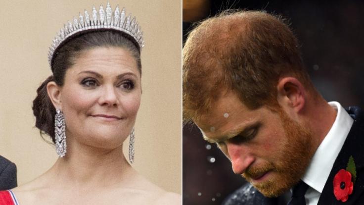 Prinzessin Victoria und Prinz Harry.