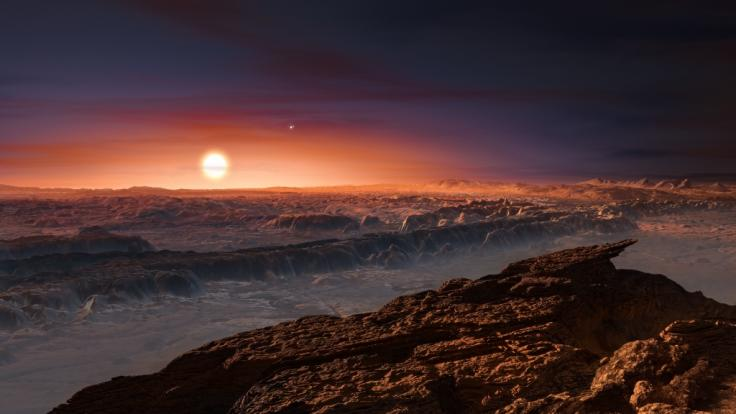 Die Entdeckung von Proxima Centauri und dessen Exoplaneten hat Wissenschaftler begeistert - doch wie könnte man die Gestirne bevölkern? (Foto)