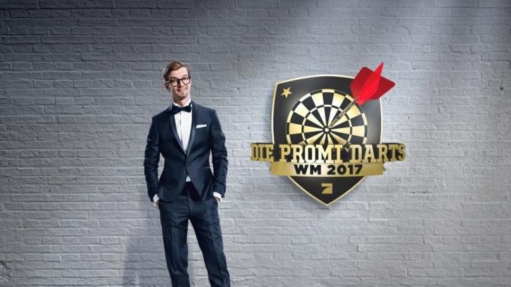 """Joko Winterscheidt moderierte """"Die Promi-Darts-WM 2017"""". (Foto)"""