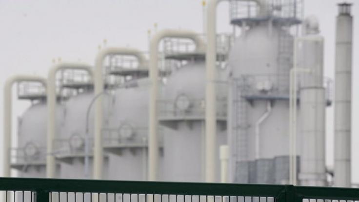 Eine Explosion in einer Gasstation im niederösterreichischen Baumgarten forderte mehrere Verletzte. (Foto)