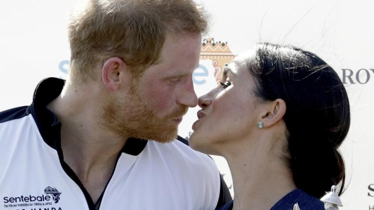 Baby-Glück bei den Royals: Prinz Harry und Herzogin Meghan erwarten ihr erstes Kind. (Foto)