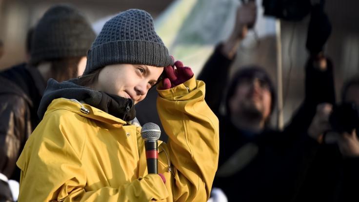 Greta Thunberg ist aus dem Heimweg.