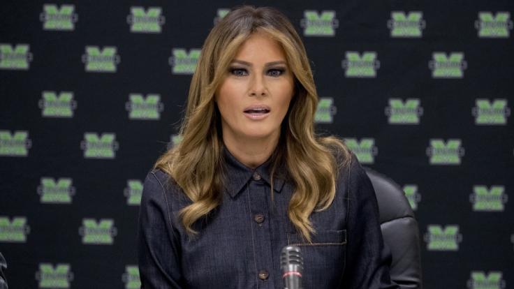 Schwere Vorwürfe gegen Melania Trump.