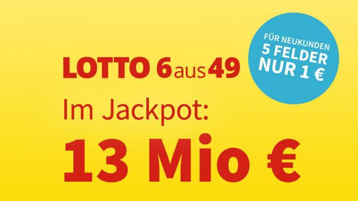 wie viele millionen sind im lotto jackpot