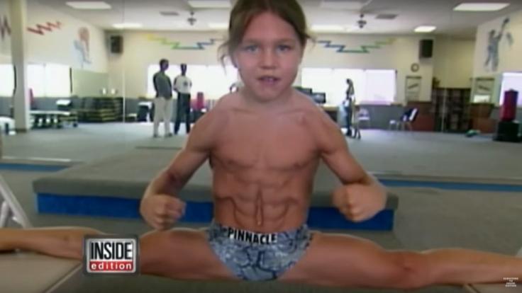 Bei diesem Muskeln könnte man neidisch werden, wäre es nicht ein Kinderkörper, der für so etwas eigentlich noch nicht ausgelegt ist. (Foto)