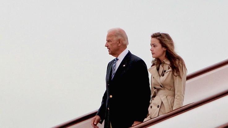 Naomi Biden unterstützte ihren Opa Joe Biden im US-Wahlkampf.