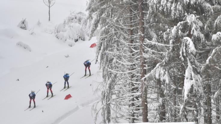 Der Biathlon-Weltcup der Herren gastiert in Antholz (Foto)