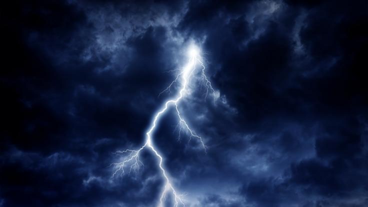 Der Wetterdienst warnt vor Unwettern in Deutschland.