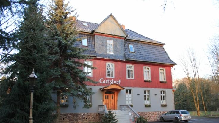 """Das Romantikhotel """"Bizarre Traumwelten"""" in Nordhausen. (Foto)"""