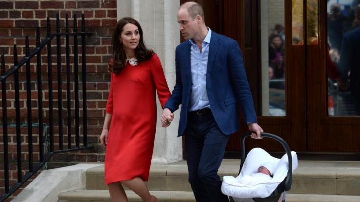 Kate Middleton hat nach der Geburt ihres dritten Kindes nicht viel Zeit, ihren After-Baby-Body fit zu machen. (Foto)