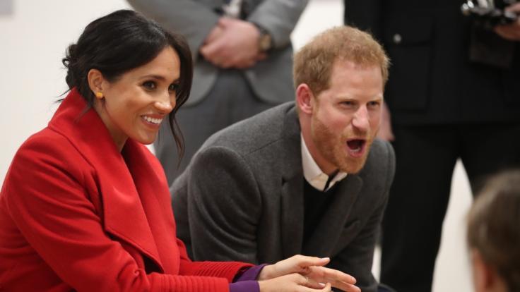 Meghan Markle und Prinz Harry sind nicht mehr lange zu zweit: Im Frühjahr 2019 wird das erste Kind des Paares geboren. (Foto)