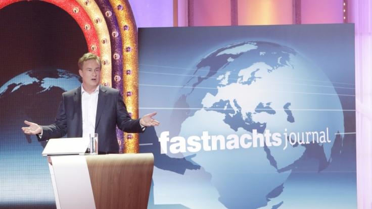 Lars Reichow bei seinem Auftritt bei