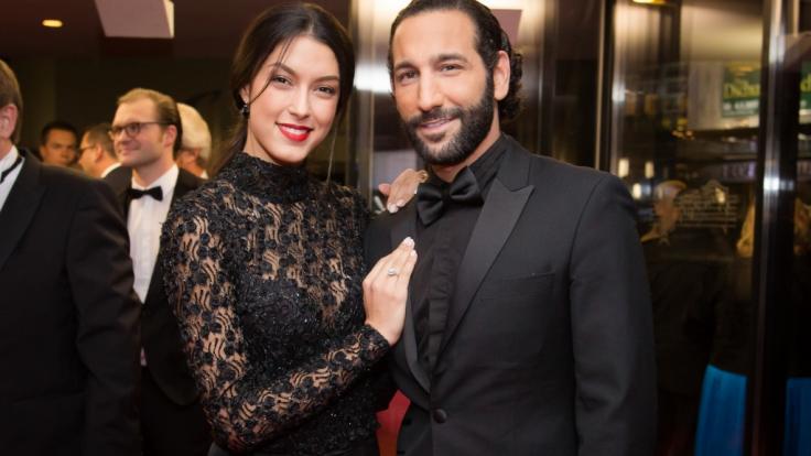 """Rebecca Mir und Massimo Sinato haben ihr Liebesglück der RTL-Show """"Let's Dance"""" zu verdanken. (Foto)"""