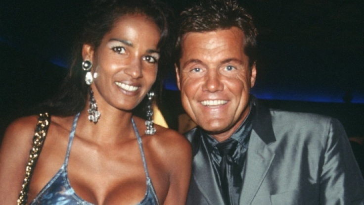 Dieter Bohlen 1999 mit seiner Naddel bei der Verleihung der World Music Awards in Monte Carlo.