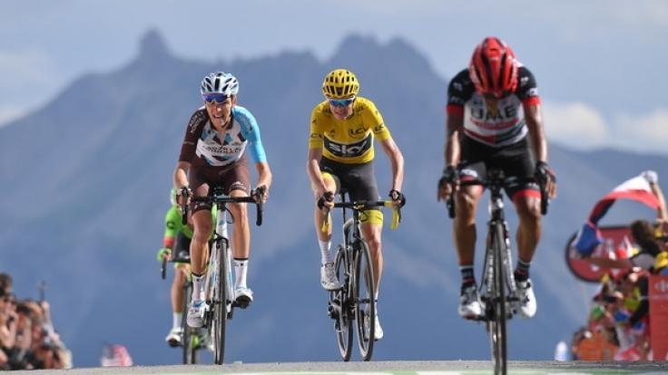 Paris ist das Ziel: Noch knapp 350 Kilometer bis zum Finale. (Foto)