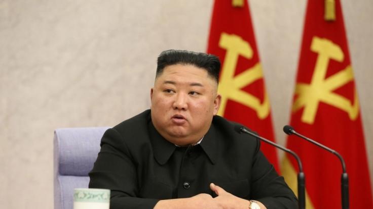 Kim Jong-un treibt seinen Mauerbau voran. (Foto)