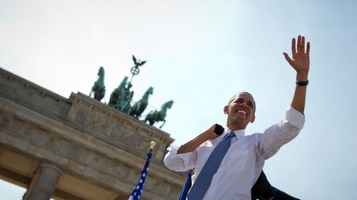 Barack Obama kommt zum Evangelischen Kirchentag nach Deutschland. (Foto)