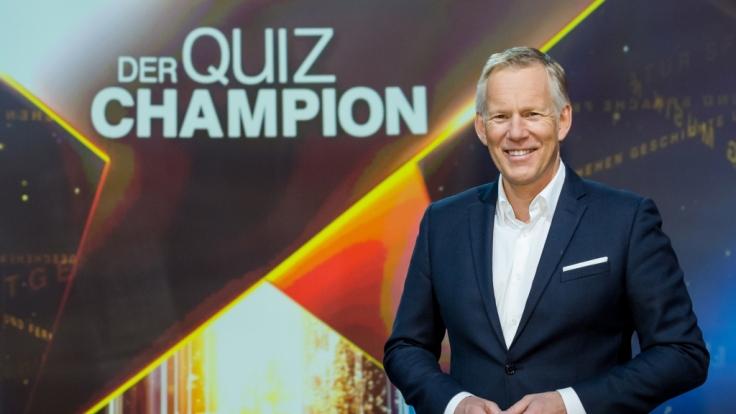 """""""Der Quiz-Champion"""": Johannes B. Kerner testet das Wissen seiner Gäste im härtesten Quiz Deutschlands. (Foto)"""