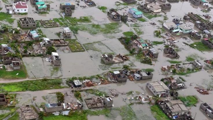 """In Mosambik kamen infolge des Tropensturms """"Idai"""" mindestens 68 Menschen ums Leben, Hunderte wurden verletzt und Tausende obdachlos. (Foto)"""