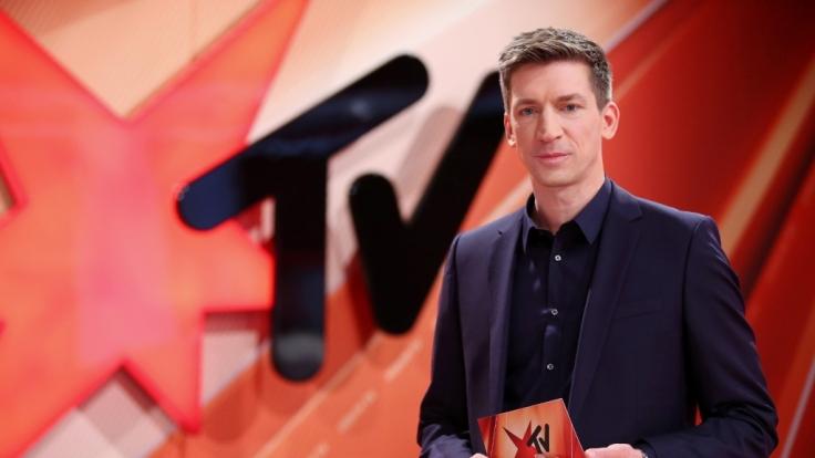 Steffen Hallaschka präsentiert stern TV. (Foto)