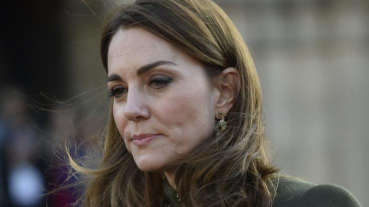 Herzogin Kate nahm an einer Gedenkfeier teil. (Foto)