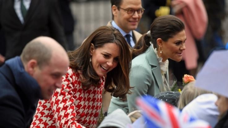 Herzogin Kate ehrt das Ansehen von Prinzessin Diana.
