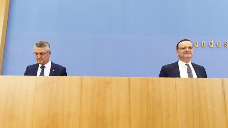 Gesundheitsminister Jens Spahn widersprach RKI-Chef Lothar Wieler beim Thema Inzidenzen. (Foto)