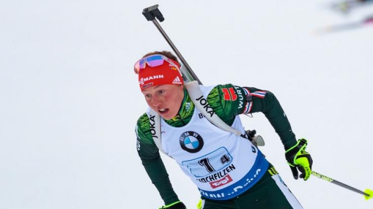 Laura Dahlmeier geht in Annecy optimistisch an den Start.