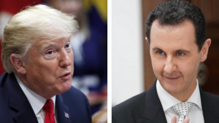 Der Konflikt zwischen Donald Trump und Syriens DiktatorBashar al-Assad spitzt sich zu.