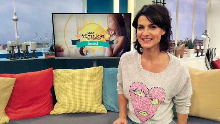 Marlene Lufen ist vor allem als Moderatorin des Sat.1-Frühstücksfernsehens bekannt.