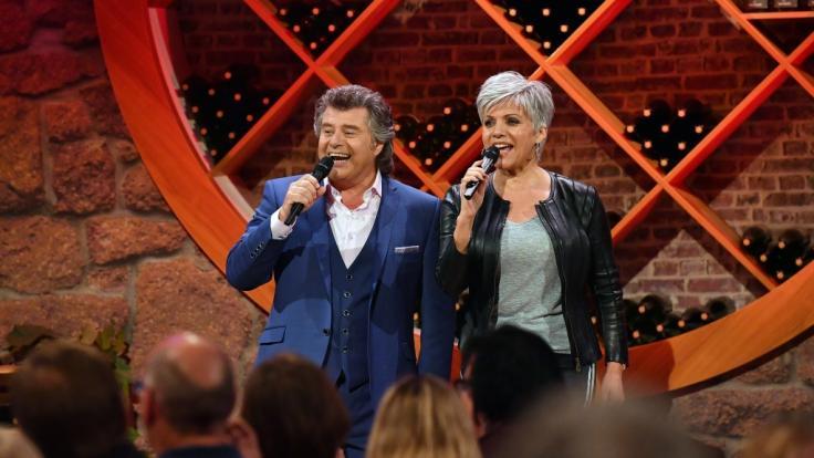 Andy Borg im Duett mit Birgit Schrowange. (Foto)