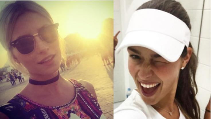 So viele sexy Damen: Lena Gercke und Ana Ivanovic in Rio.