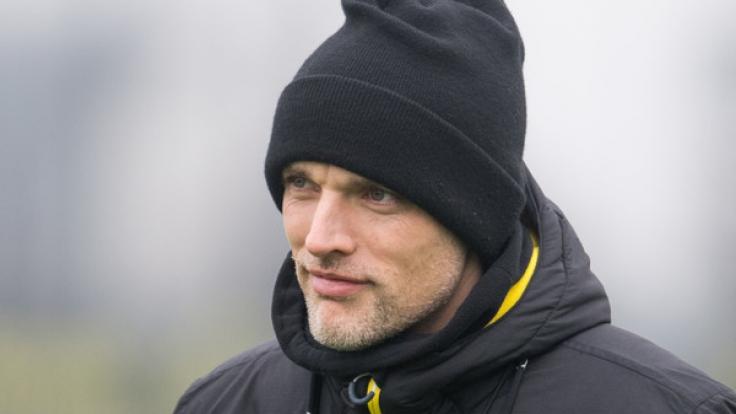 BVB-Coach Thomas Tuchel sieht gegen Lotte ein