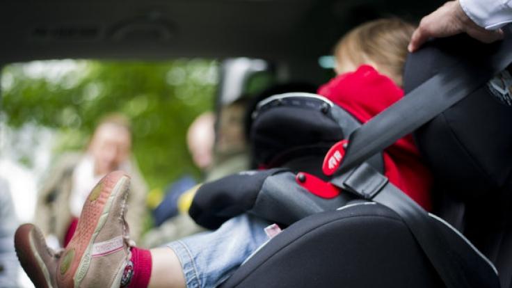 Kindersitz - auf die richtige Verwendung achten!