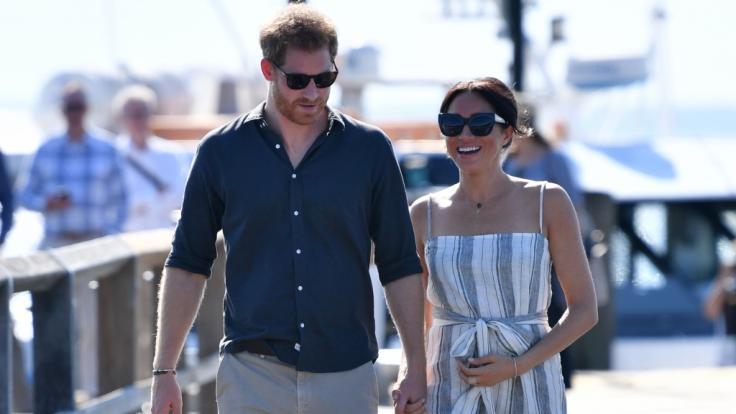 Prinz Harry und Meghan Markle sind aktuell in Australien unterwegs.