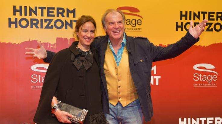 Ein Herz und eine Seele: Schauspieler Wolfgang Fierek und seine Ehefrau Djamila Mendil.