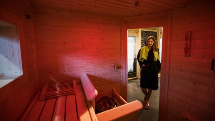 In einer Sauna in Delmenhorst sorgt ein selbstgemixter Aufguss für eine fatale Stichflamme. (Symbolbild) (Foto)