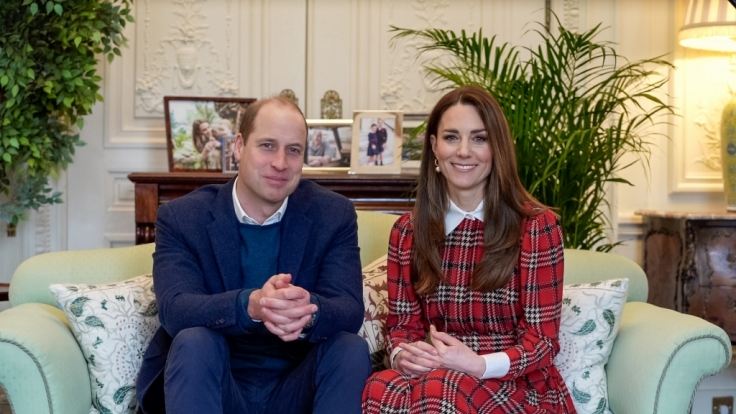 Prinz William, Herzog von Cambridge, und seine Frau Kate, Herzogin von Cambridge, bleiben der Queen als Senior Royals erhalten. (Foto)