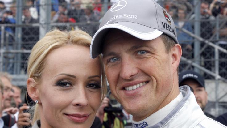 Cora und Ralf Schumacher im Jahr 2008.