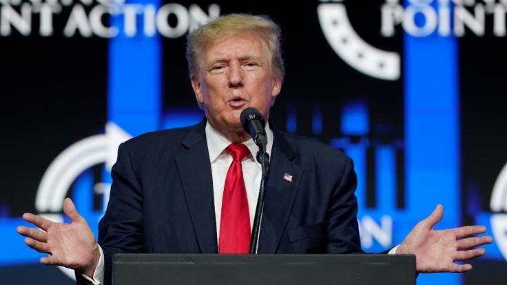 Trumps ehemalige Mitarbeiter sollen im Untersuchungsausschuss gegen ihn aussagen. Das könnte schwere Folgen für den Ex-Präsidenten haben. (Foto)