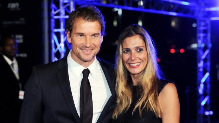 Jens und Conny Lehmann im November 2013.