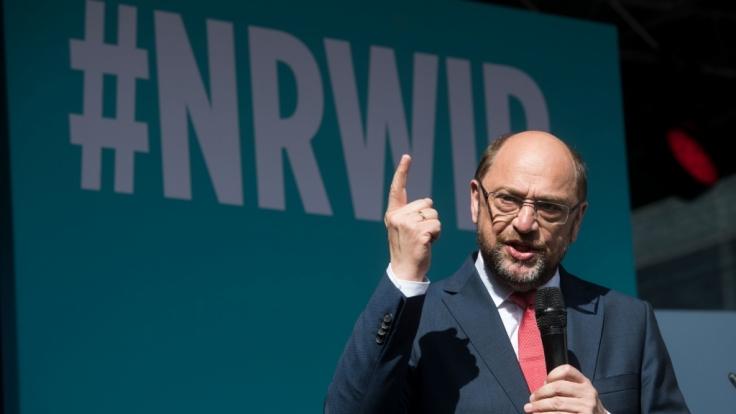 Auch in NRW hatte der Schulz-Zug keine Chance! (Foto)