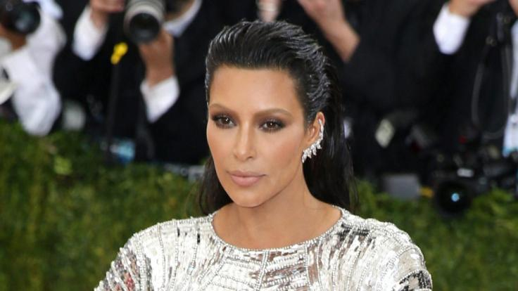 Für ihr neues Instagram-Foto erntete Kim Kardashian jede Menge Spott.